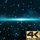 Blue Sci-Fi Particle Background 4K - VideoHive Item for Sale