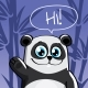 Vector Illustration of Cartoon Panda - GraphicRiver Item for Sale