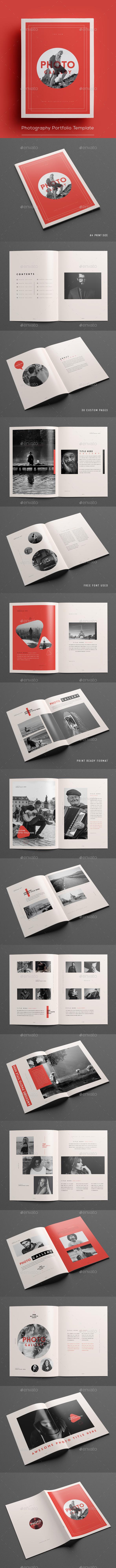 GraphicRiver Photography Portfolio Template 20860581