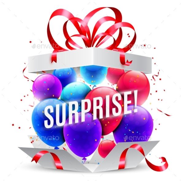 GraphicRiver Surprise Gift Box 20860717