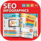 SEO Development Infographics - GraphicRiver Item for Sale
