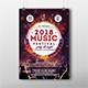 2018 Music Festival Flyer