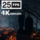 Halloween Grave 02 4K - VideoHive Item for Sale
