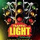 Traffic Light Saturday Template