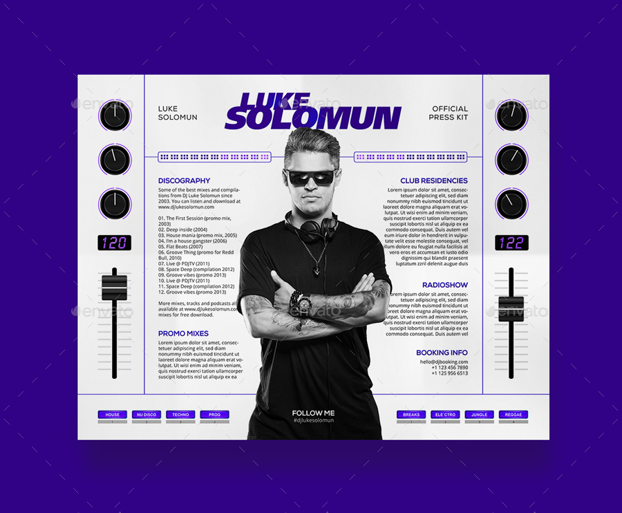MaDJestik  DJ Press Kit  DJ Resume