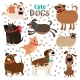 Collection of Cartoon Dogs - GraphicRiver Item for Sale