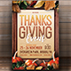 Thanksgiving Event Flyer - GraphicRiver Item for Sale