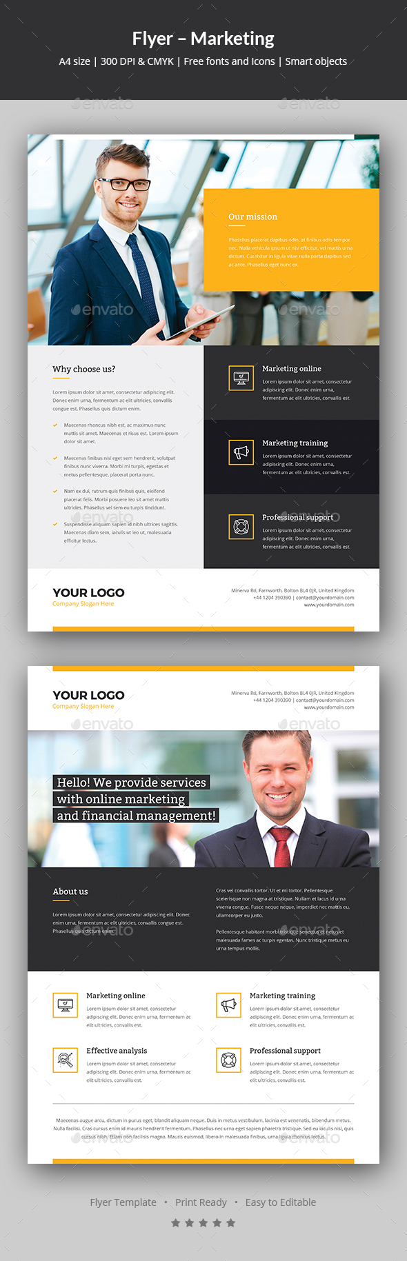 Flyer – Marketing - Corporate Flyers
