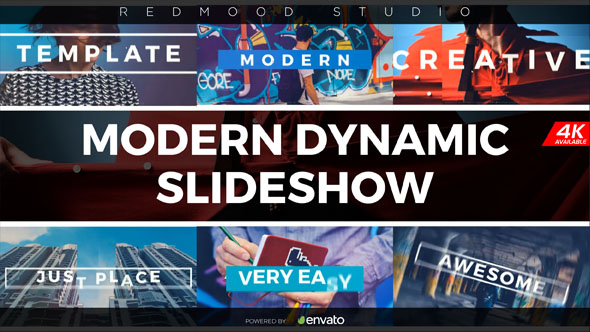 Modern Dynamic Slideshow