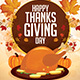 Thanksgiving Day Flyer Template v2 - GraphicRiver Item for Sale