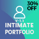 Intimate - Minimal Portfolio WordPress Theme