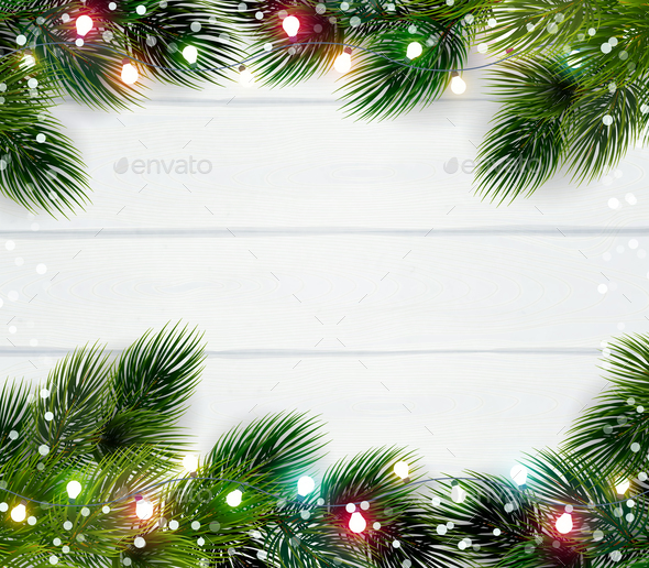 Christmas Frame Template - Christmas Seasons/Holidays
