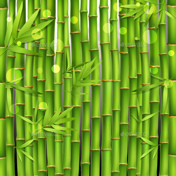 GraphicRiver Bamboo Oriental Seamless Pattern 20862403