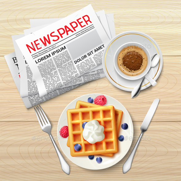 GraphicRiver Morning Newspaper Poster 20862405