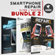 Smartphone Repair Flyer/Poster Bundle 2 - GraphicRiver Item for Sale