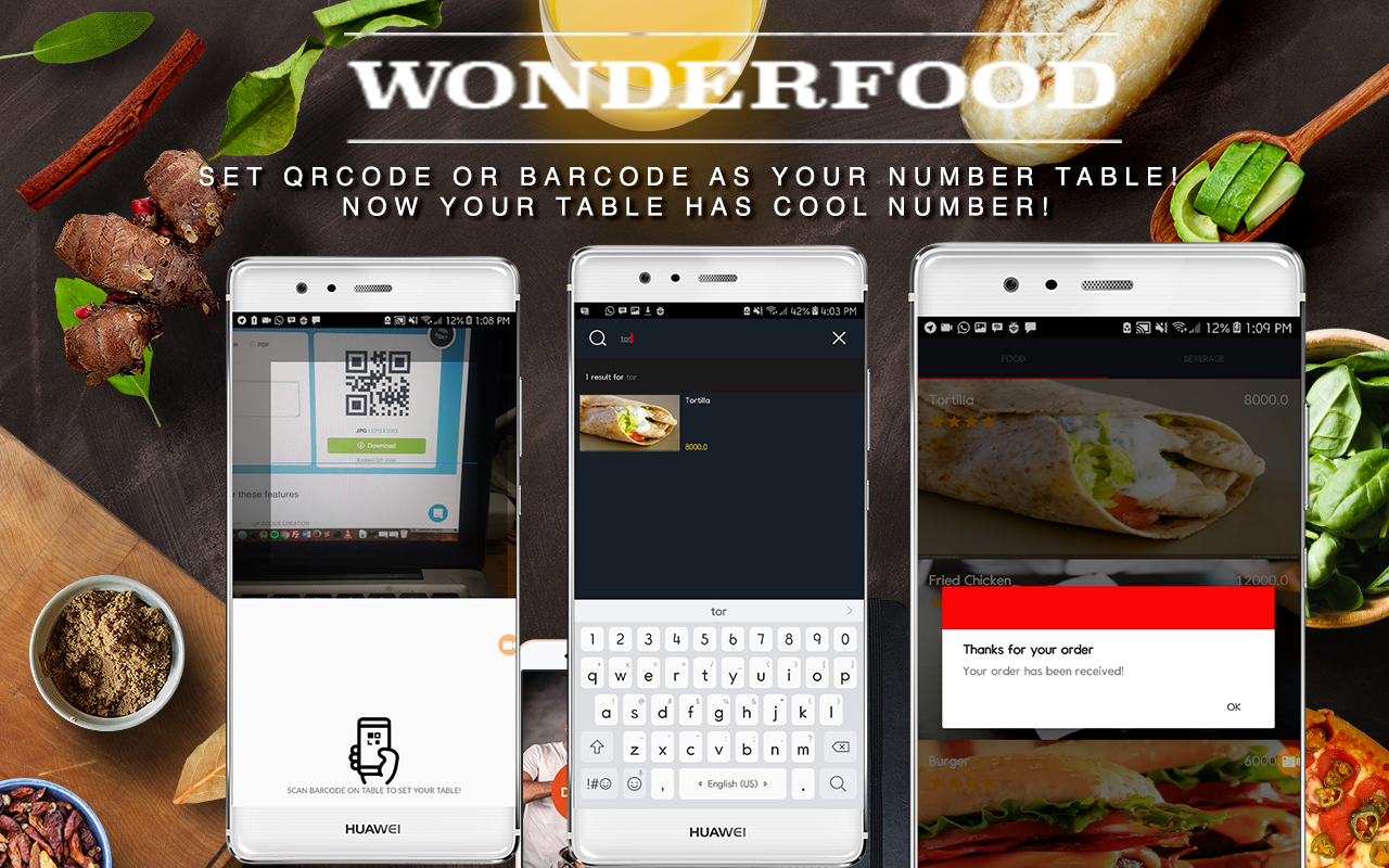 Wonderfood, Food Ordering Management System - 2