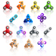 Hand Spinner Toys Icon Set