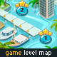 Game Level Map for Water Games