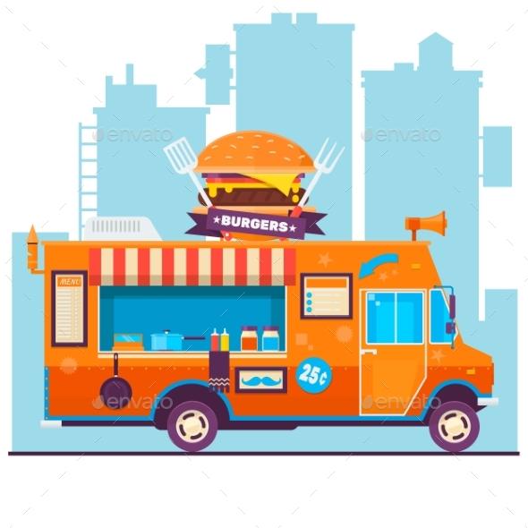 Food Truck - Food Objects