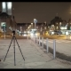 Night Street with Man Shooting Video. Helsinki, Finland - VideoHive Item for Sale