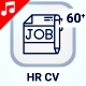 Human Resource Resume HR CV Icons - VideoHive Item for Sale