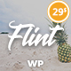 Flint - Optimised WordPress Blog Theme