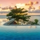 Exotic Romantic Sunrise Infinity Pool with Panoramic Sea Views - VideoHive Item for Sale