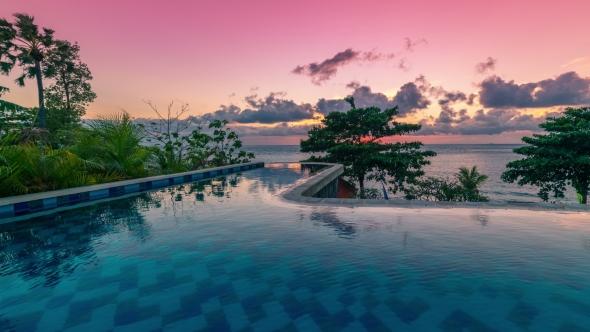 infinity pool bali. Plain Pool Play Preview Video Intended Infinity Pool Bali
