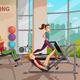 Exercise Room Illustration