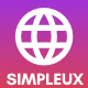 Simpleux - Beautiful Creative Website Template for Agency, Business and Portfolio