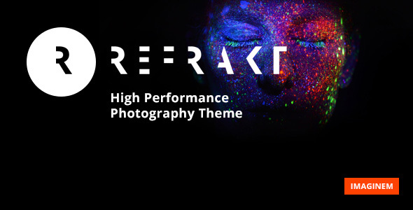 Refrakt | High Performance Photography Theme - Photography Creative