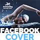 Swimming Lessons Facebook Cover Template