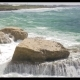 Rosh Hanikra Coastline and Sea Waves Crushing Rocks - VideoHive Item for Sale