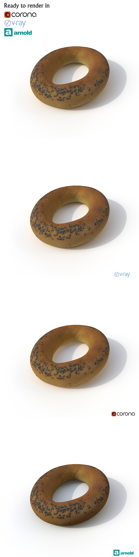 Bagel - 3DOcean Item for Sale
