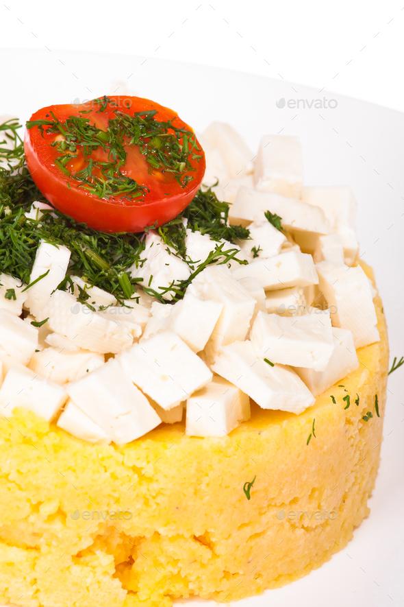 Carpathian refined dish - Stock Photo - Images