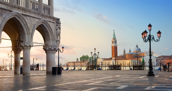 Morning over San Marco - Stock Photo - Images