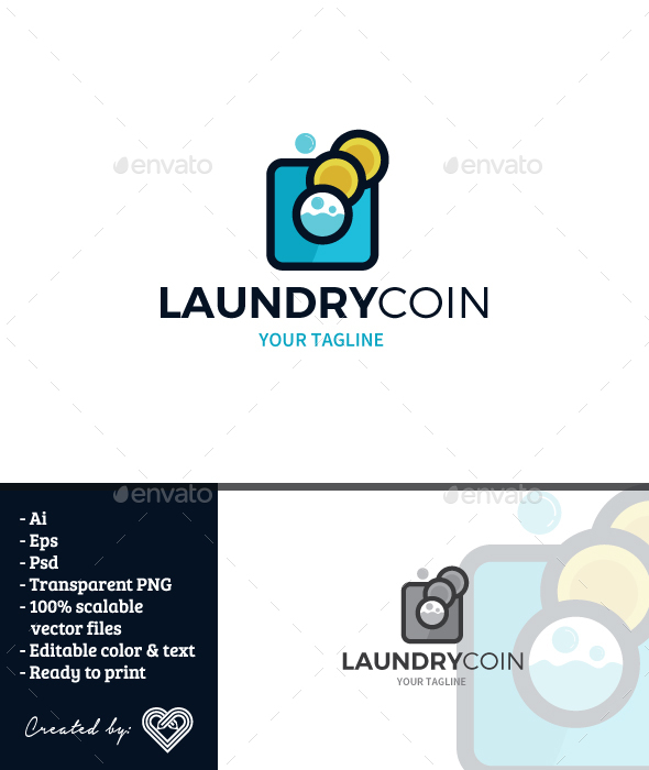 GraphicRiver Laundy Coin 20864310