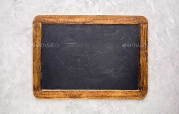 Small chalkboard - Stock Photo - Images