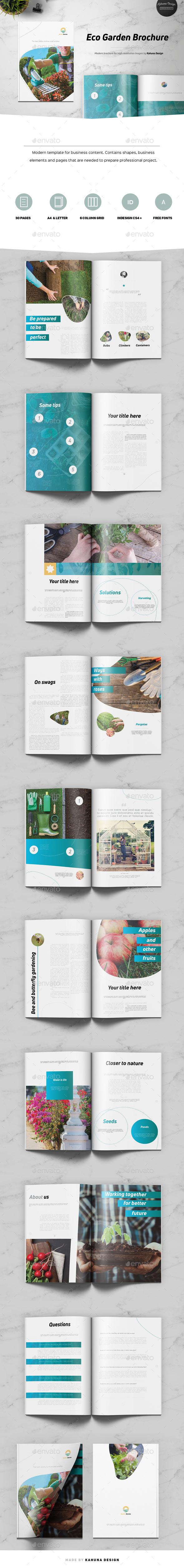 Eco Garden Brochure - Informational Brochures