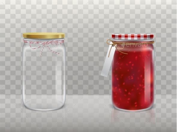 GraphicRiver Set of Jars 20865038