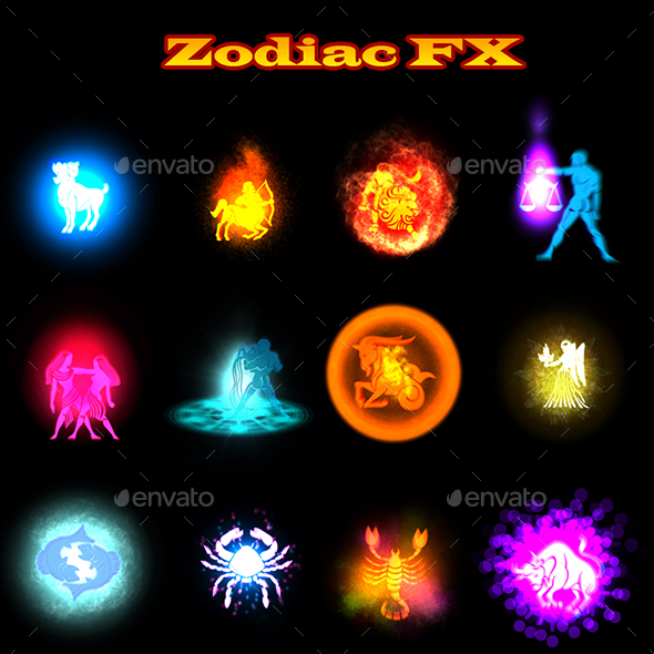 GraphicRiver Zodiac FX 20865068