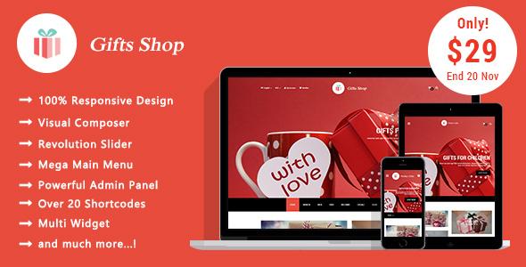 Gifts Shop - Responsive WooCommerce WordPress Theme - WooCommerce eCommerce
