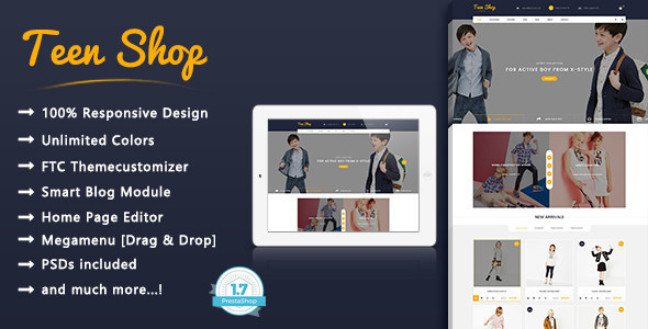Download Free PrestaShop-1.7.0.x