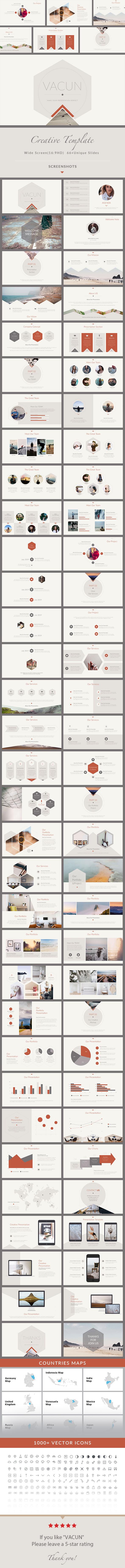 VACUN - Creative PowerPoint Presentation Template - Creative PowerPoint Templates