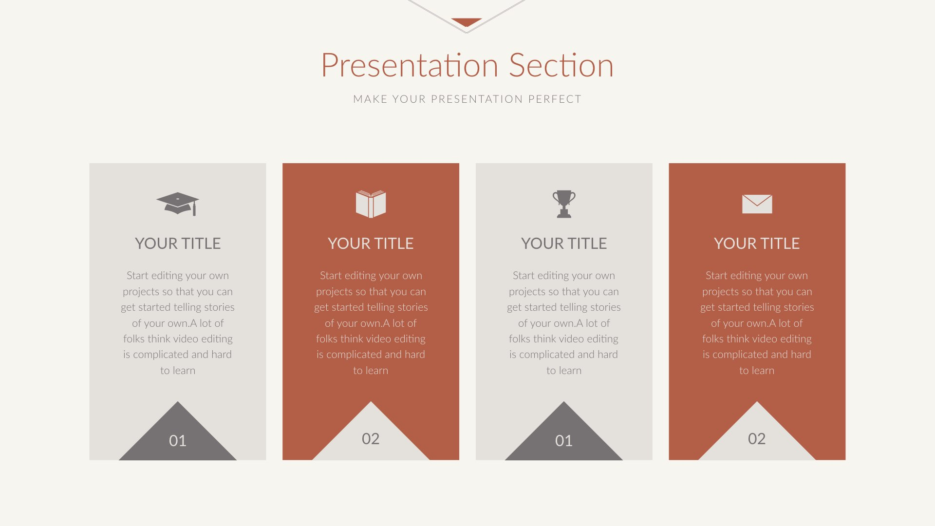 make your own presentation