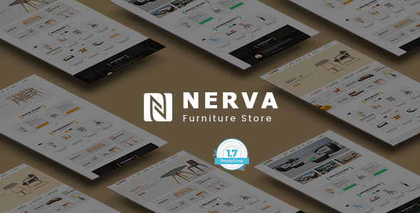 Nerva Furniture - Responsive Prestashop 1.7 Theme