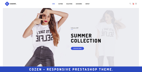 Cozen - Prestashop Fashion Theme