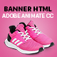 Set of Shoes  Banner Ad Animated HTML5  (Animate CC) - CodeCanyon Item for Sale