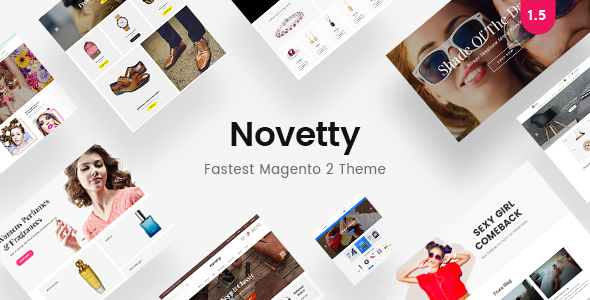 Novetty - Fastest & Most Customizable Magento 2 Theme