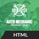 Auto Mechanic - Services & Repaires HTML Template